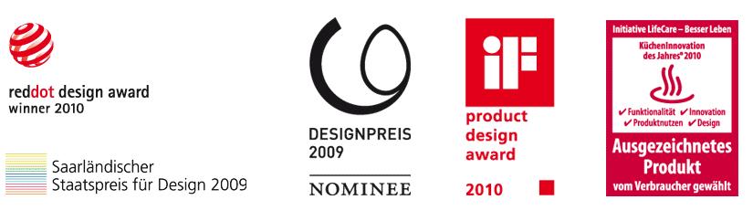 Premios y menciones de diseño