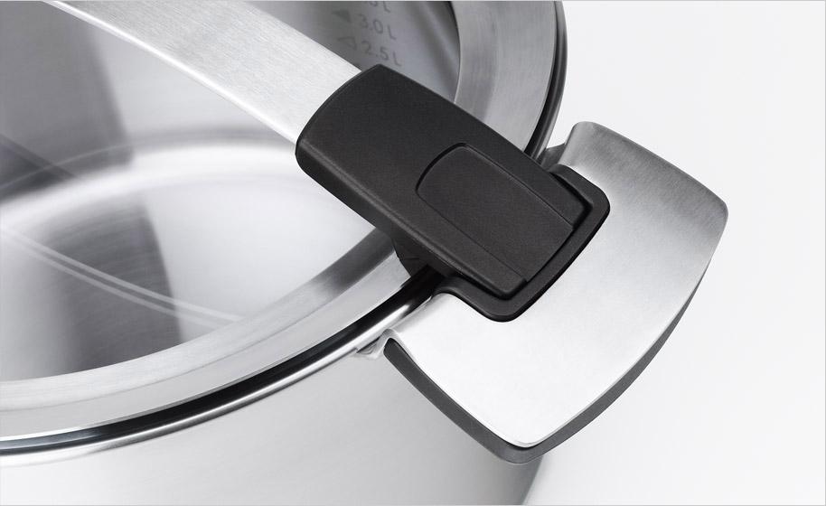 Cocinar con utensilios y sartenes de acero inoxidable 18 10 for Utensilios cocina acero inoxidable