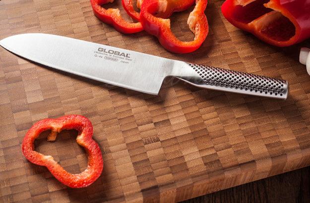 Cuchillos santoku precios caracter sticas y usos for Cuchillo santoku