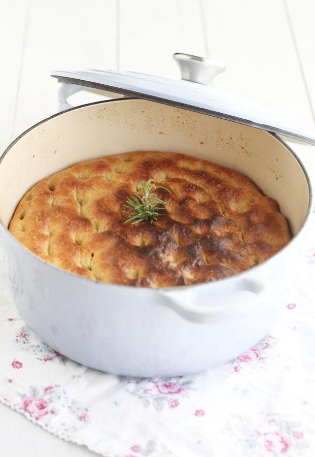 Focaccia de calabaza en cocotte2 lecuiners - Cocinar en cocotte ...