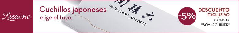 Comprar cuichillos japoneses en Lecuine