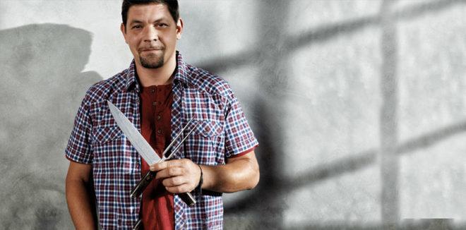 El cocinero alemán Tim Mälzer ha diseñado la colección de cuchillos