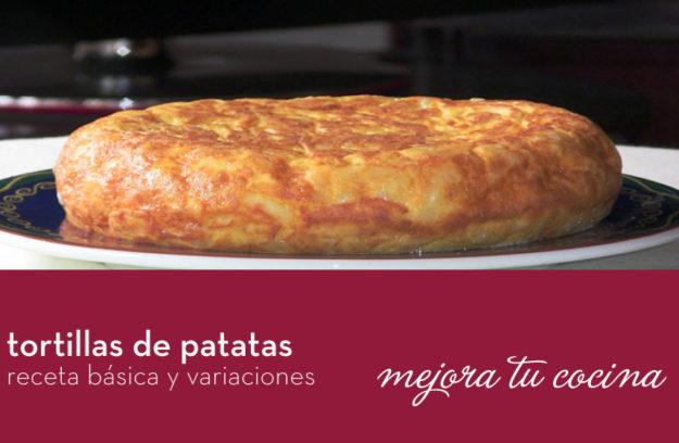 Recetas de tortillas de patatas