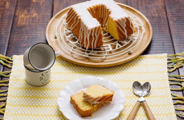 Bundt Cake de coco y naranja, receta fácil para hornearlo