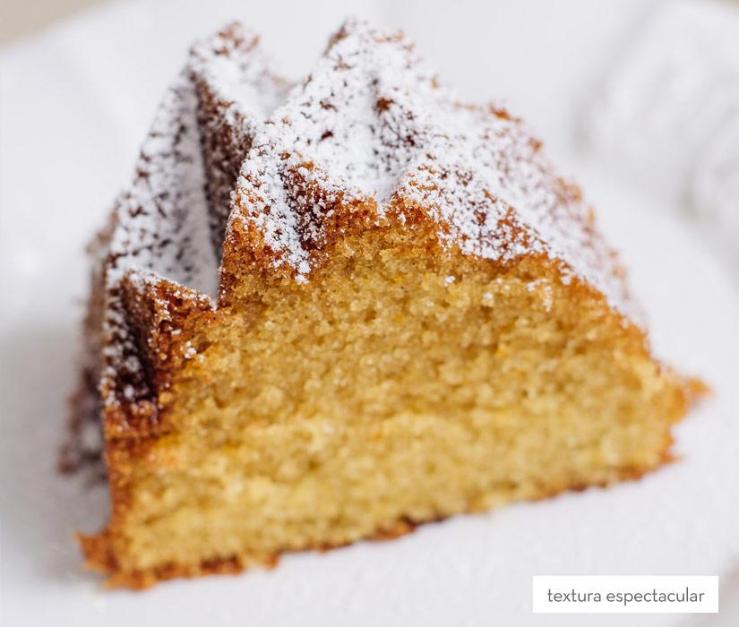 Trozo de bundt cake de nata ¿te apetece?