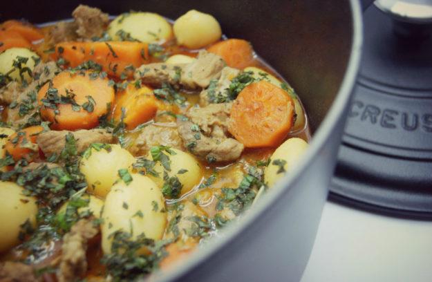 receta para cocinar en cocotte le creuset