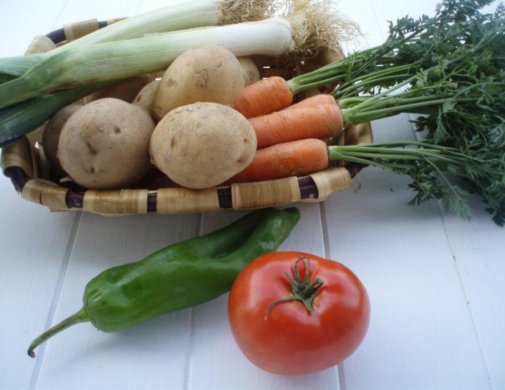 crema verduras olla a presion