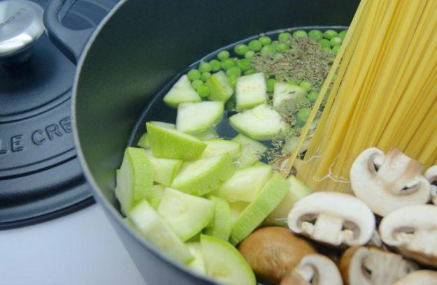 Pasta en cocotte - Cocinar en cocotte ...