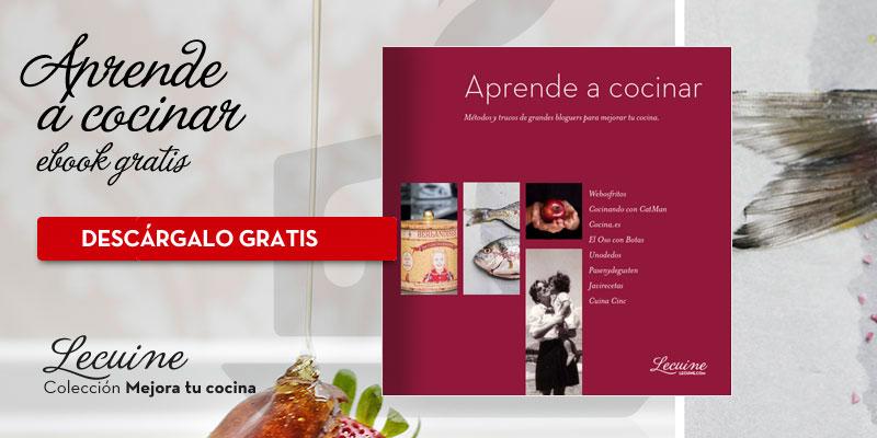 Descarga el ebook gratuito para apredender a cocinar
