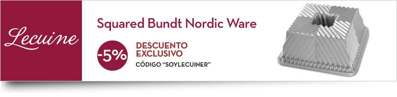 Comprar molde Squared Bundt Nordic Ware