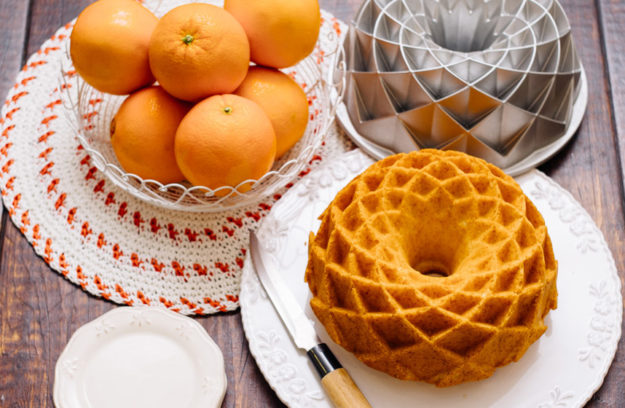 Bundt Cake de naranja, receta fácil