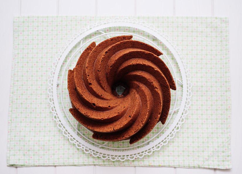 Bundt Cake de cholate