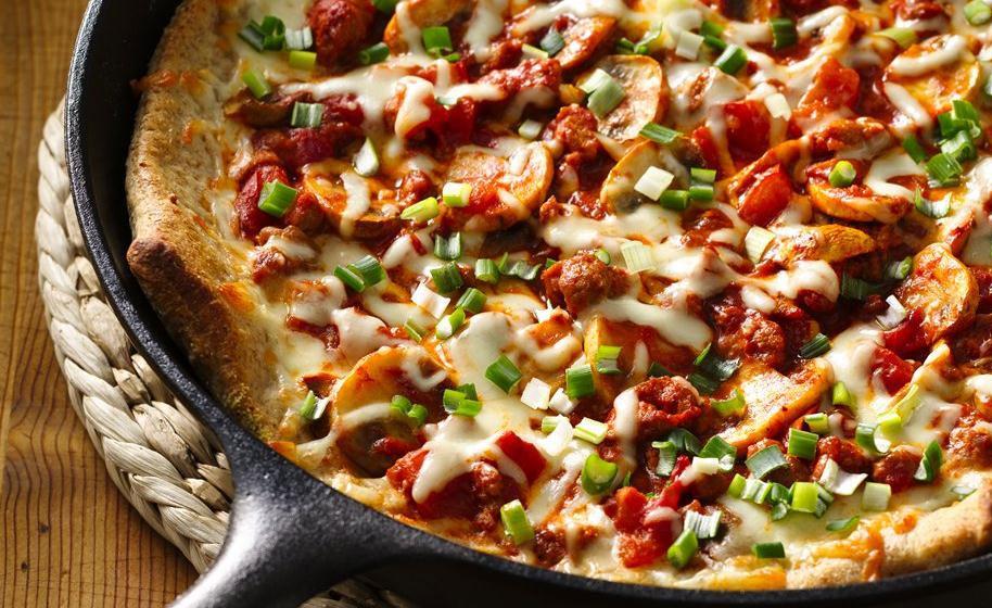 Hacer pan pizzas y bizcochos en sart n de hierro fundido - Sarten hierro fundido ...