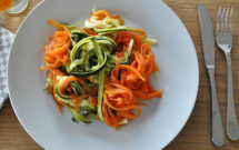 sacapuntas de verduras