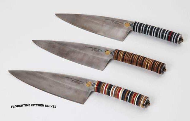 Cuchillos Artesanales Florentine Kitchen Knives Lecuiners