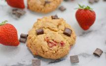cookies fresa y chocolate