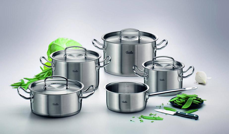 Bateria cocina acero inoxidable lecuiners for Articulos acero inoxidable para cocina