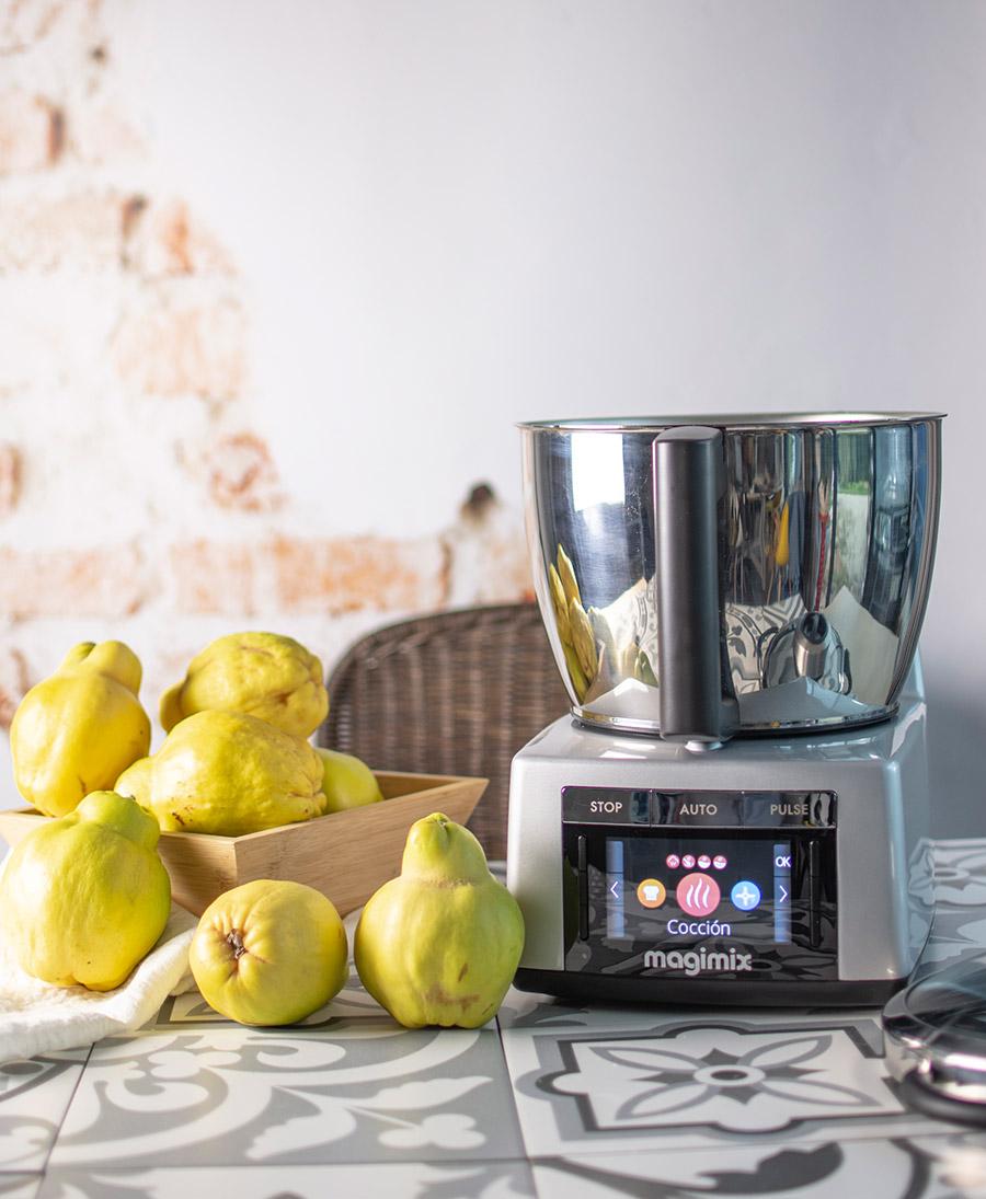 Ingredientes necesarios para preparar dulce de membrillo