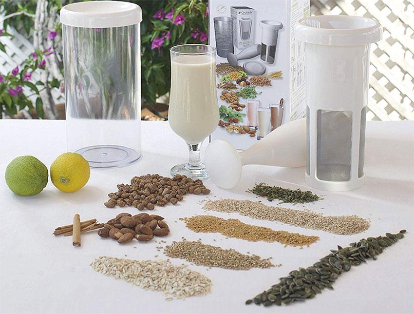Haz leche vegetal en casa de manera natural