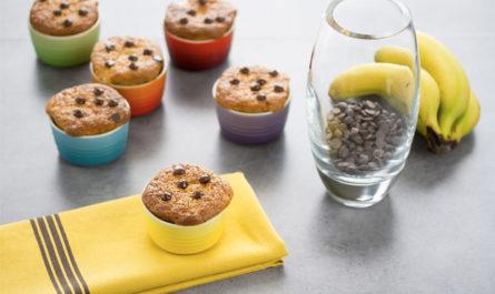 Receta bizcochitos plátano y chocolate para Cook Expert