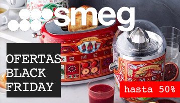 Productos SMEG Black Friday