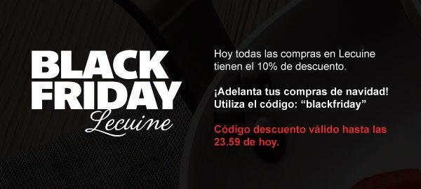 Black Friday Lecuine
