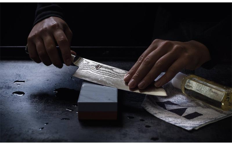 Afiladores y piedras para afilar cuchillos de cocina
