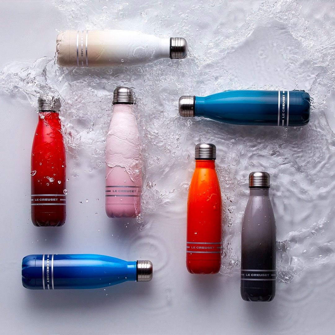 Botellas de acero inoxidable le creuset