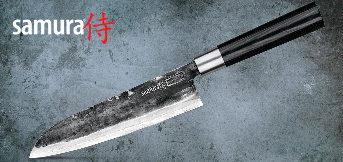 Cuchillo Santoku Samura
