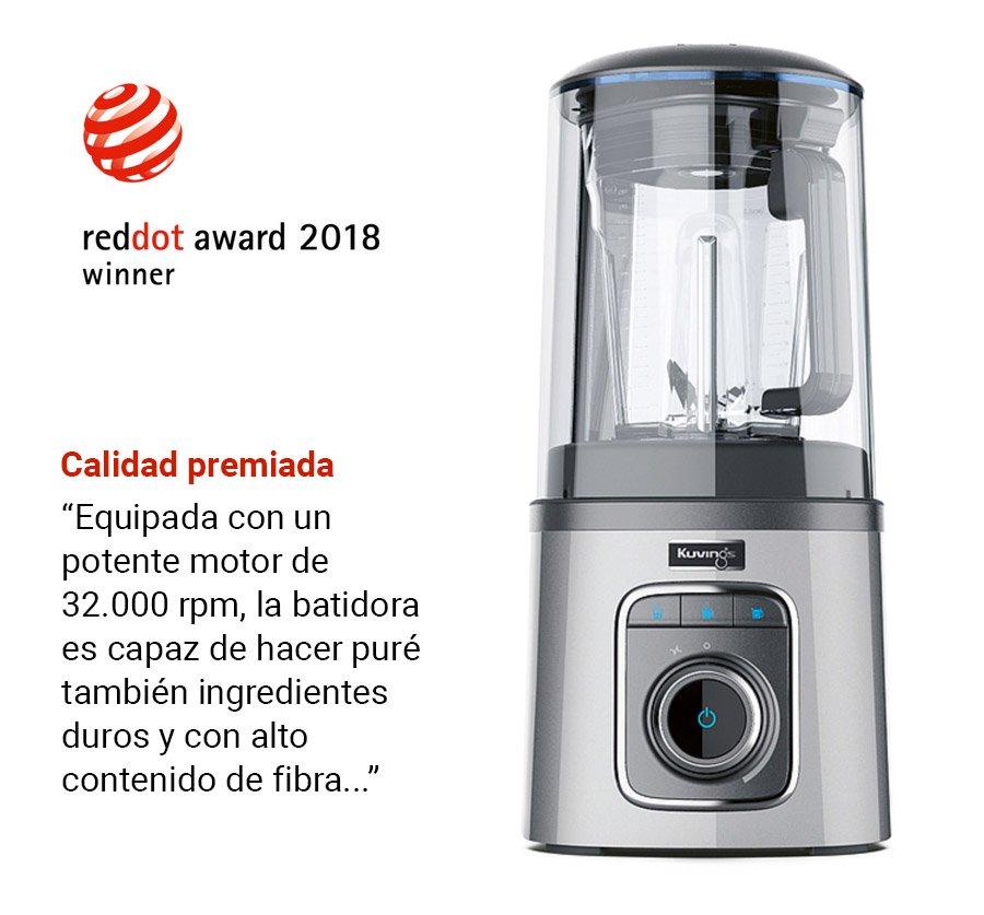 Diseño premiado por Red Dot Award