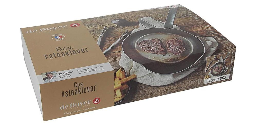 Caja Steak Lovers De Buyer