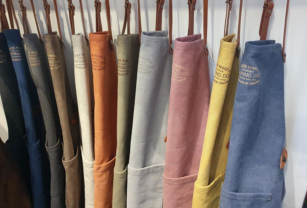 Colección delantales Crafted
