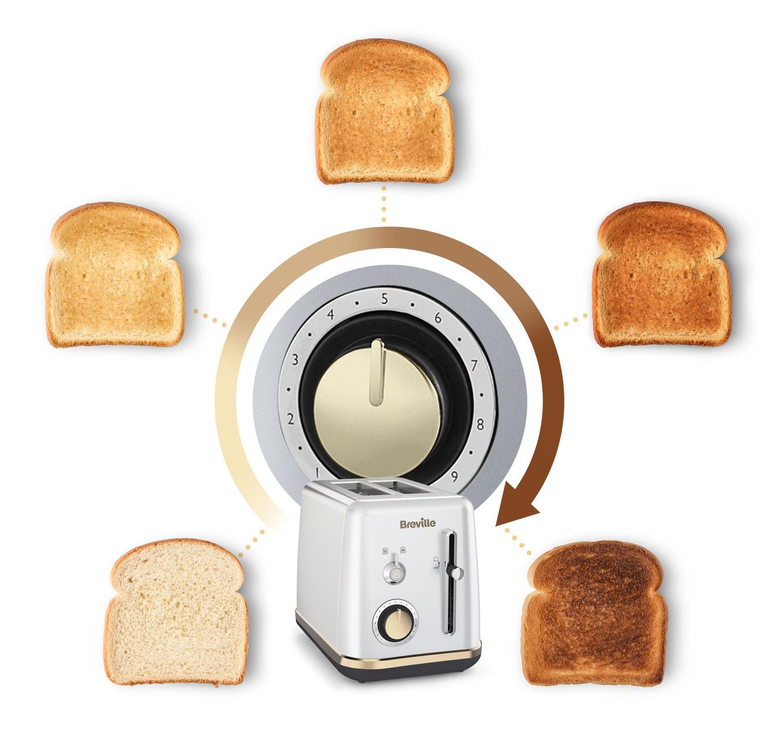 Tostadora Breville ¿Cómo quieres tu tostada?