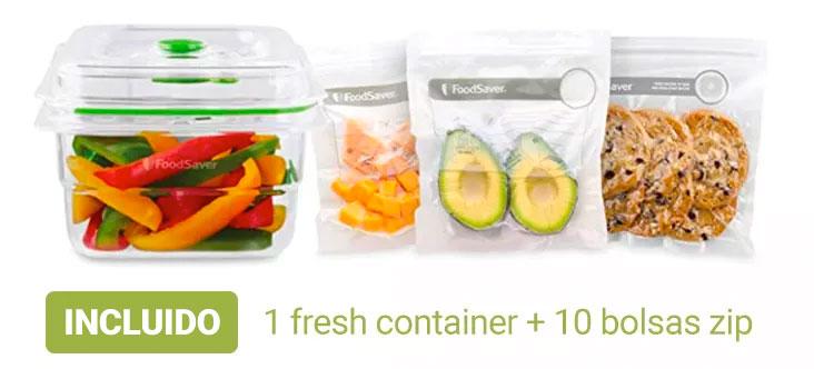 Incluida con la compra de tu FRESH SAVER FOODSAVER DE LECUINE