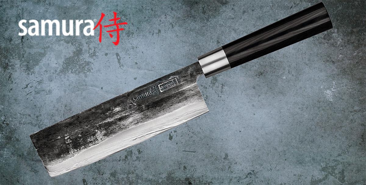 Cuchillo Nakiri Samura Super 5