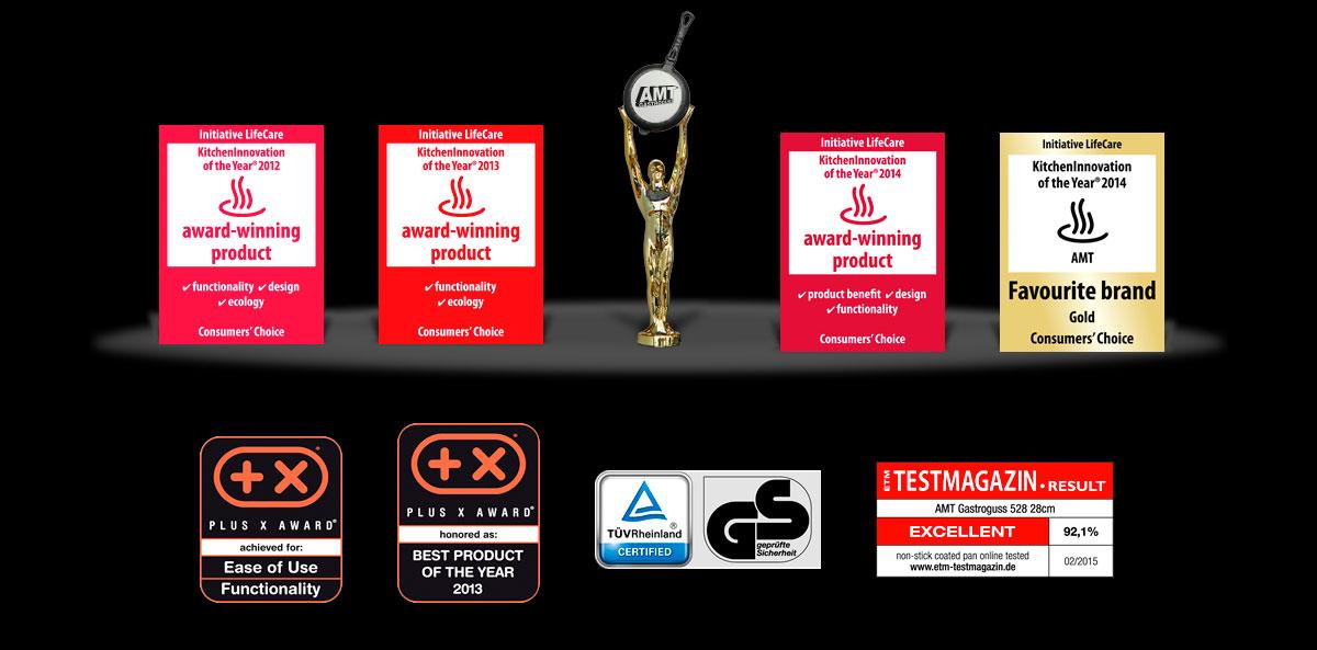 Premios internacionales AMT Gastroguss